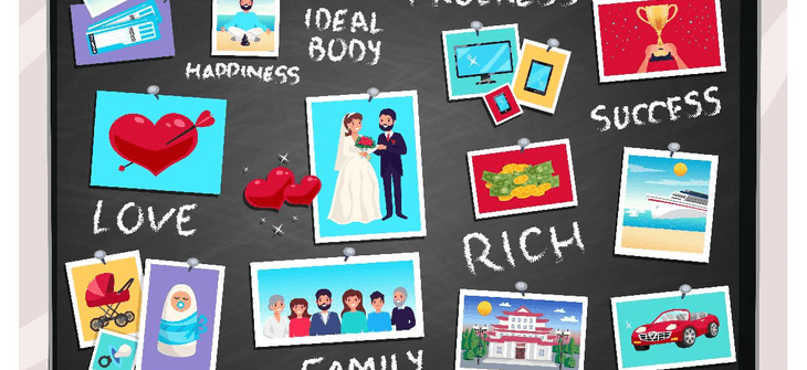 How to make your ideal Vision Board in 2020